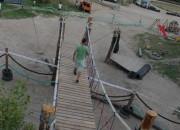 Most na Średni Park Linowy